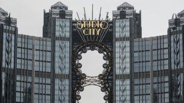Melco Crown's $US3.2 billion Studio City casino resort in Macau.