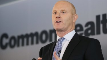 Half of CBA's senior executives who report to chief executive Ian Narev will be female.