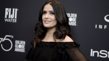 Salma Hayek says that working with Harvey Weinstein forced her to put a full-frontal nude sex scene in her film, Frida.