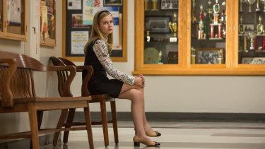 Angourie Rice as Peter Parker's classmate Betty in Spider-Man: Homecoming.