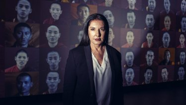 """Marina Abramovic wants visitors to her new show to take their time: """"Because life is so fast, we have to make art slow."""""""