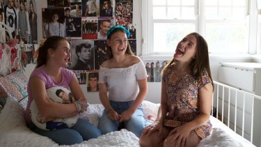 Lily Santamaria, Georgie James and Milly James discuss their obsession with One Direction in the film, <i>I Used to Be Normal: A Boyband Fangirl Story</i>.