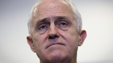 Prime Minister Malcolm Turnbull during a press conference in Sydney on Monday.