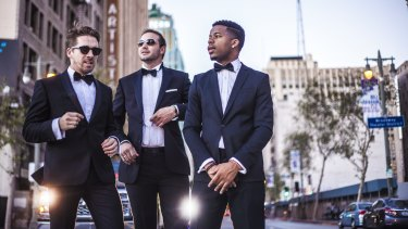 The California Crooners Club featuring Hugh Sheridan will appear in the Brisbane Festival.