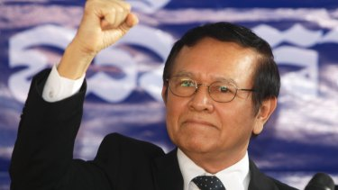 Cambodia's main opposition Cambodia National Rescue Party Vice President Kem Sokha in September.