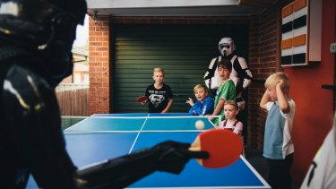 We have fun activities at our parties (like Star Wars ping pong) - you don't need to hang around to make sure your kid's having fun.