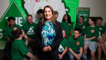 The Greens MP for Northcote, Lidia Thorpe.