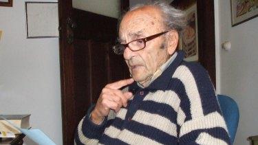 Poet Dimitris Tsaloumas.