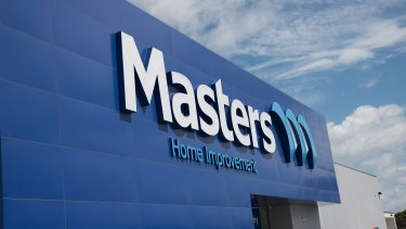 Seven of the Masters stores slated for transformation are in suburbs where there is already a Bunnings warehouse.