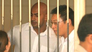 Executed Bali nine members Myuran Sukumaran and Andrew Chan in 2015.