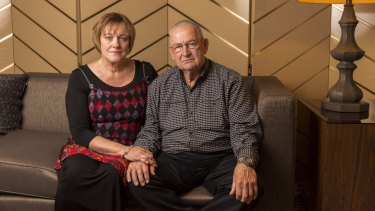 John and Kaylene Mann, who lost a total of four relatives on Malaysia Airlines flights MH17 and MH370.
