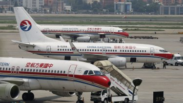 China Eastern and Qantas have 19 flights a week between them on the Sydney-Shanghai route.
