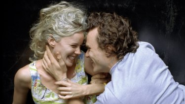 Abbie Cornish and Heath Ledger in <i>Candy</i>.