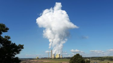 AGL says its Loy Yang A coal-fired power station has been operating at half capacity due to covert industrial action.