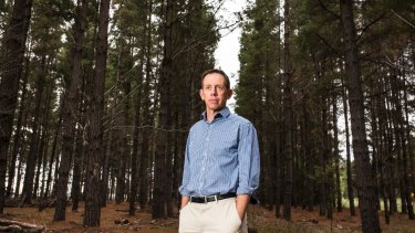 ACT climate change minister Shane Rattenbury.