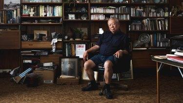 Dennis O'Hoy photographed at his home in Bendigo.