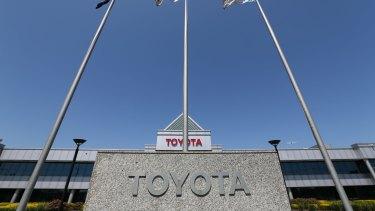 The Toyota plant in Altona.