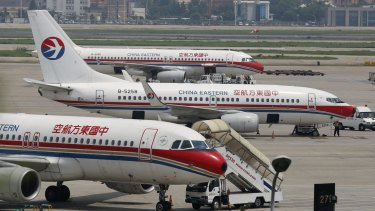 China Eastern, like Qantas, offers a daily flight between Sydney and Shanghai.