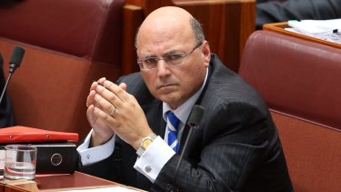 Senator Arthur Sinodinos was honorary treasurer of the NSW Liberals when the unlawful donations were made.