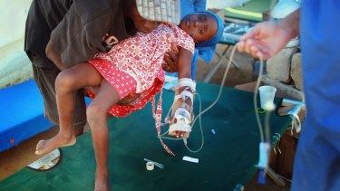 Haiti struggled to contain the cholera epidemic in 2010.