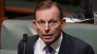 "Tony Abbott says the people have spoken, and ""Parliament should respect that result""."