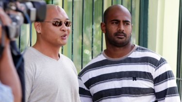 Out of options: Andrew Chan and Myuran Sukumaran have lost their last-ditch appeal.