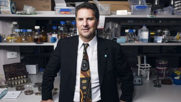 CSIRO chief executive Larry Marshall.