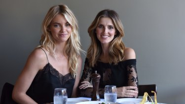 Elyse Taylor (left) and Kate Waterhouse.
