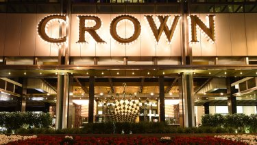 Crown no longer has any staff in mainland China.