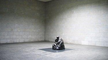 Neue Wache in Berlin, with Kollwitz's sculpture Mother with her Dead Son.