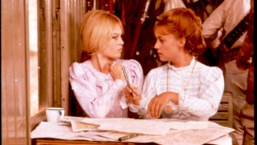 Brigitte Bardot and Jeanne Moreau in Viva Maria!: a wild genre mash-up.
