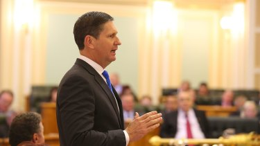 Opposition Leader Lawrence Springborg has released a discussion paper calling for a domestic violence disclosure scheme.