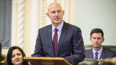 Treasurer Curtis Pitt will update Queenslanders on revenue write downs and debt levels.