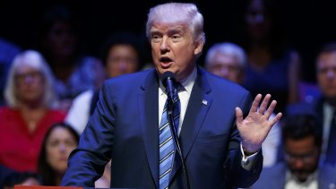 Donald Trump's candidacy had electrified America's far right,