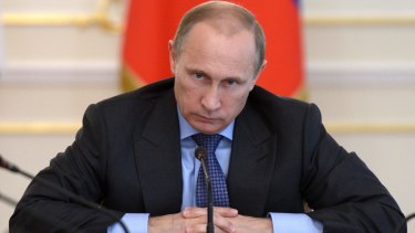 Time for appeasement: Picking a fight with Russian President Vladimir Putin is not in Australia's interest.