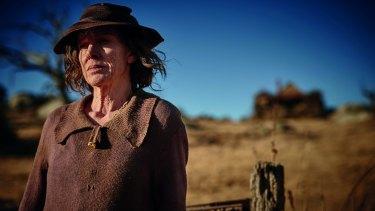 Judy Davis in <i>The Dressmaker</i>.