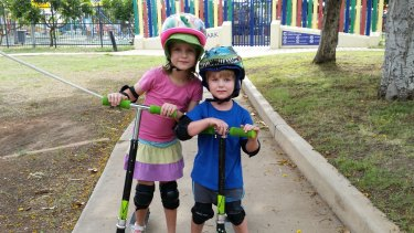 River and Nyobi Hinder died in a Mt Isa caravan blast that also killed their father, Charlie Hinder.