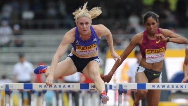 Heading home: Sally Pearson will skip her next race and return to Sydney to work on her fitness.