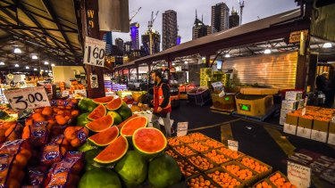 The Queen Victoria Market may be set for a $250 million revamp.