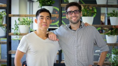 Wei-Jien Tan and Robert Quinn are winning grants for the vital signs monitoring patch.