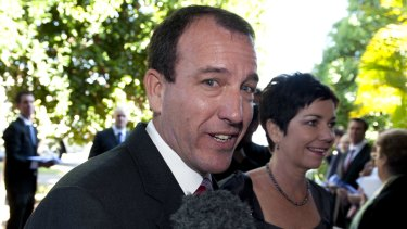 Being urged to challenge Abbott: Mal Brough.