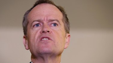 """No one believes you, Malcolm"": Bill Shorten."