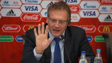 Sidelined: FIFA secretary-general Jerome Valcke.