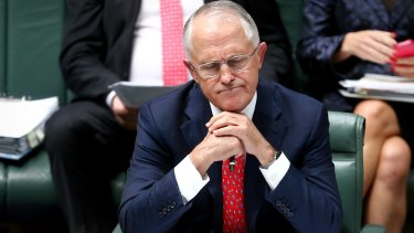 Prime Minister Malcolm Turnbull  appears ill-prepared for the heat of his own early election.