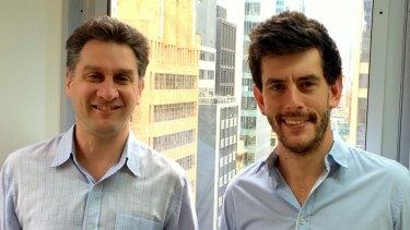 Greg Einfeld and Josh Golombick, founders of robo advice startup CapitalU.