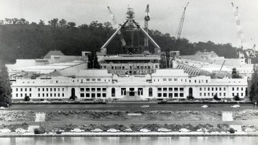 It wasn't until new Parliament House was built that the numbers of political staffers began to rise.