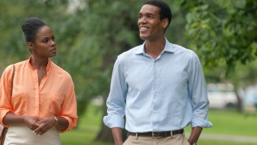Michelle and Barack: Tika Sumpter and Parker Sawyers in Southside with You.