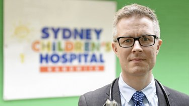 Dr Brendan McMullan, an infectious diseases specialist at the Sydney Children's Hospital. Dr McMullan and his team have helped prevent 50 newborn babies contracting HIV.