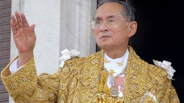 Thailand's King Bhumibol Adulyadej died in October 2016.