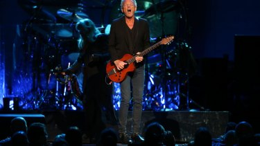 Lindsay Buckingham pumps out the Fleetwood Mac hits in Melbourne.